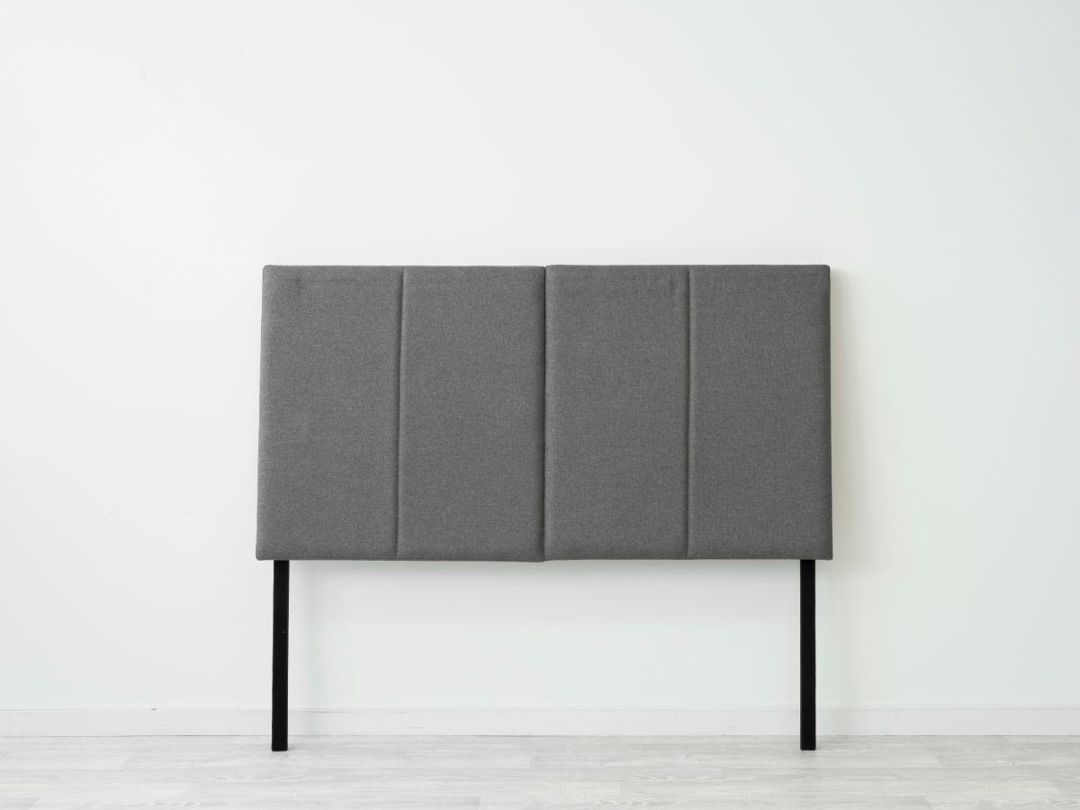 Regent Double Bedhead - Charcoal