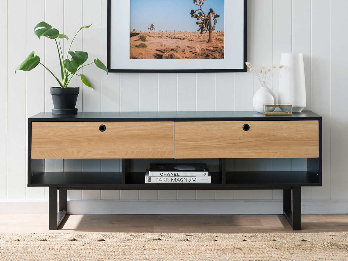 Parker Entertainment Unit - Black
