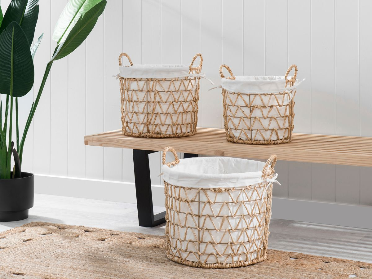 Gracelyn Baskets - Set of 3