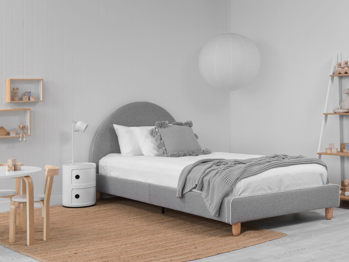 Dani Bed - King Single - Grey