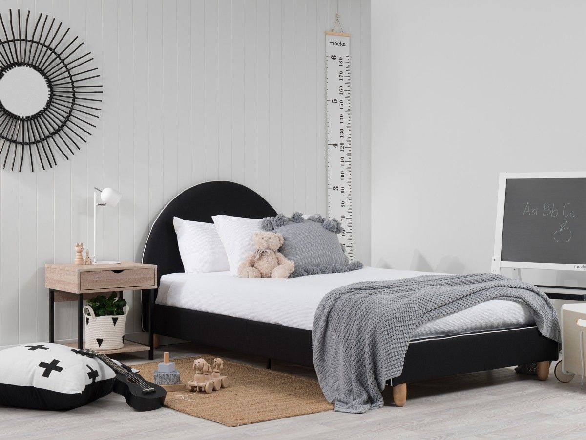 Dani Bed - King Single - Black