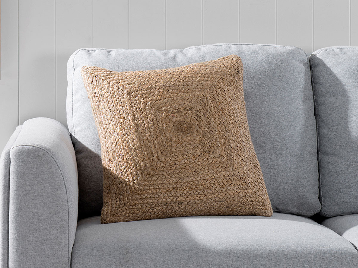 Buddina Cushion Cover - Square - Natural