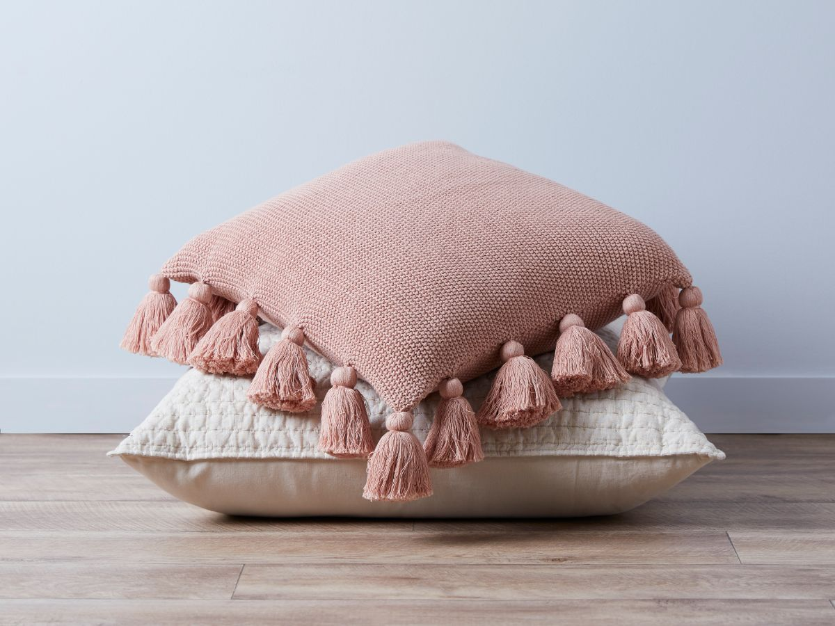 Clementine Cushion Cover - Rose