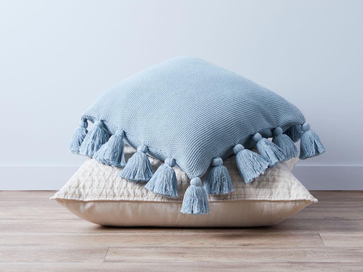 Clementine Cushion Cover - Ocean