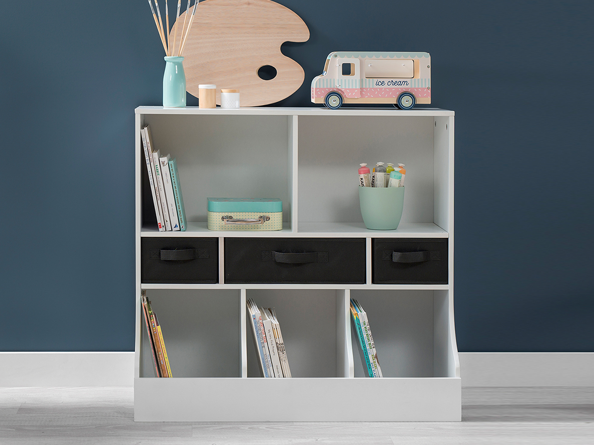 Kids Shelf Unit - White