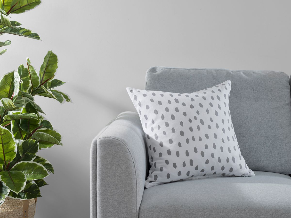 Kiara Spot Cushion Cover - Grey