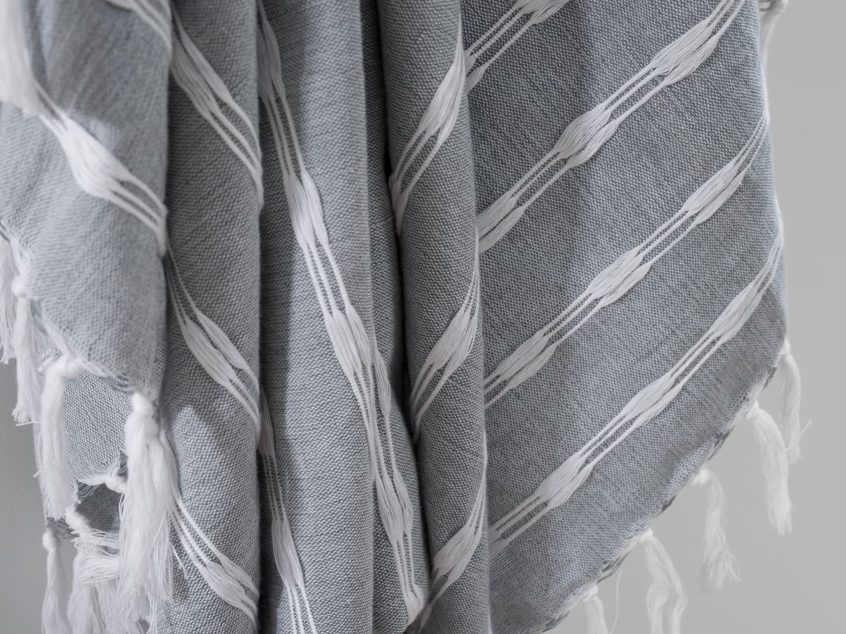 Bria Throw - Grey