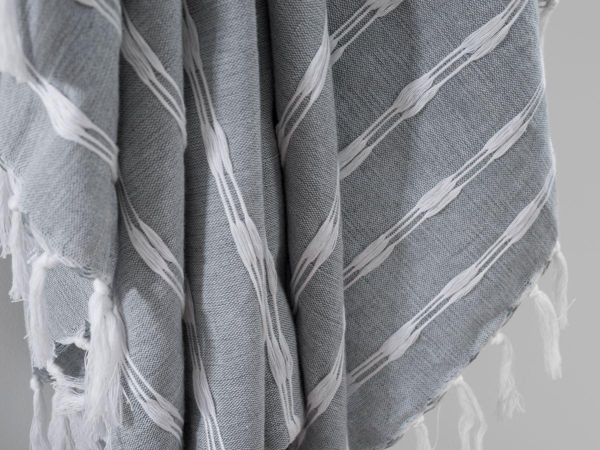 Bria Throw - Grey