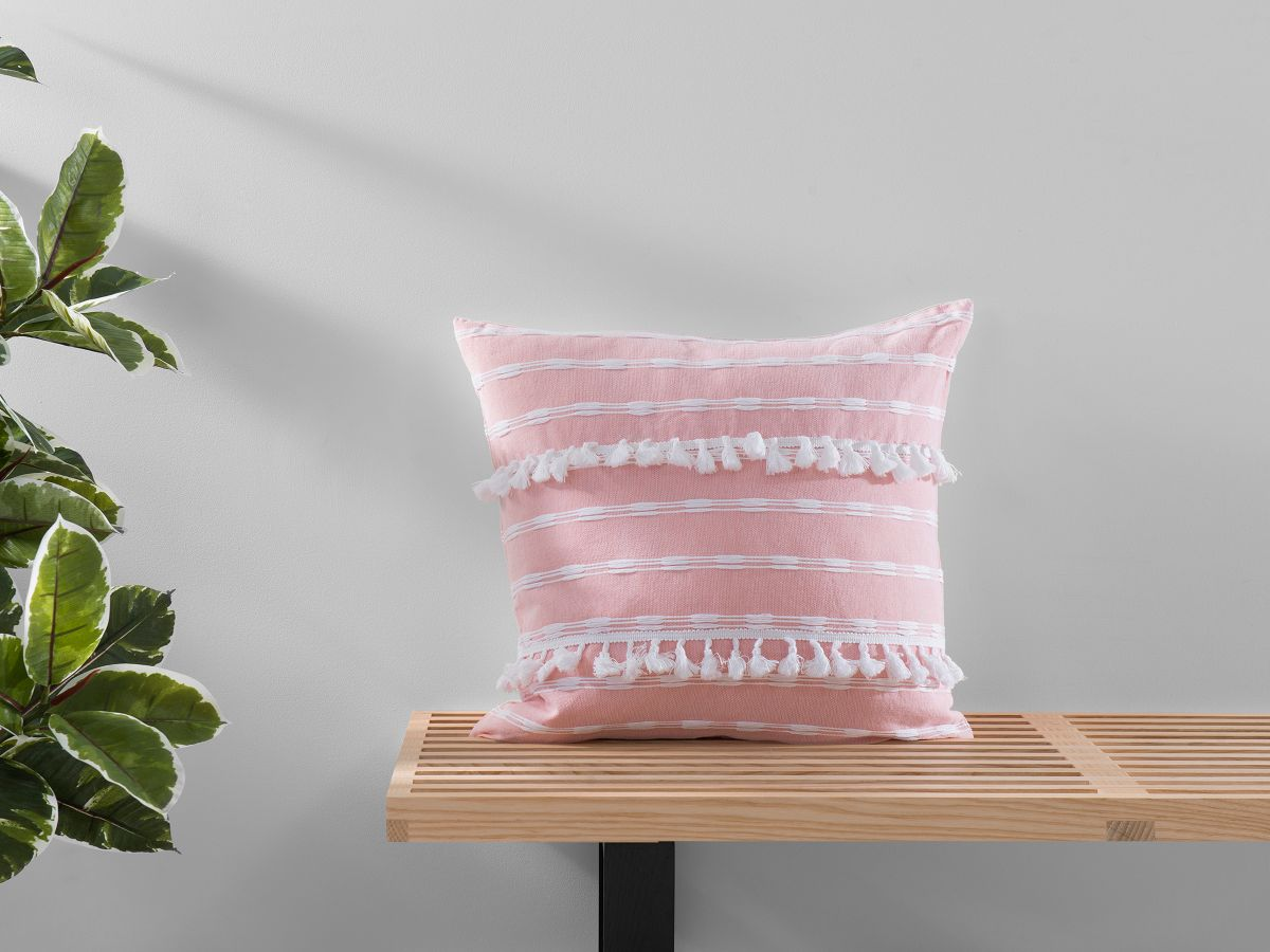 Bria Cushion Cover - Square - Pink