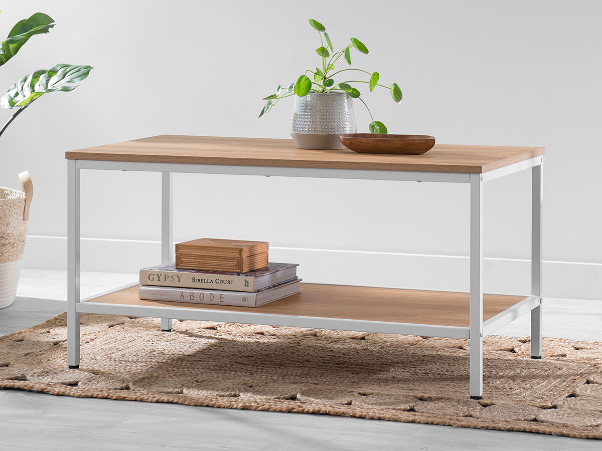 Porto Coffee Table - White