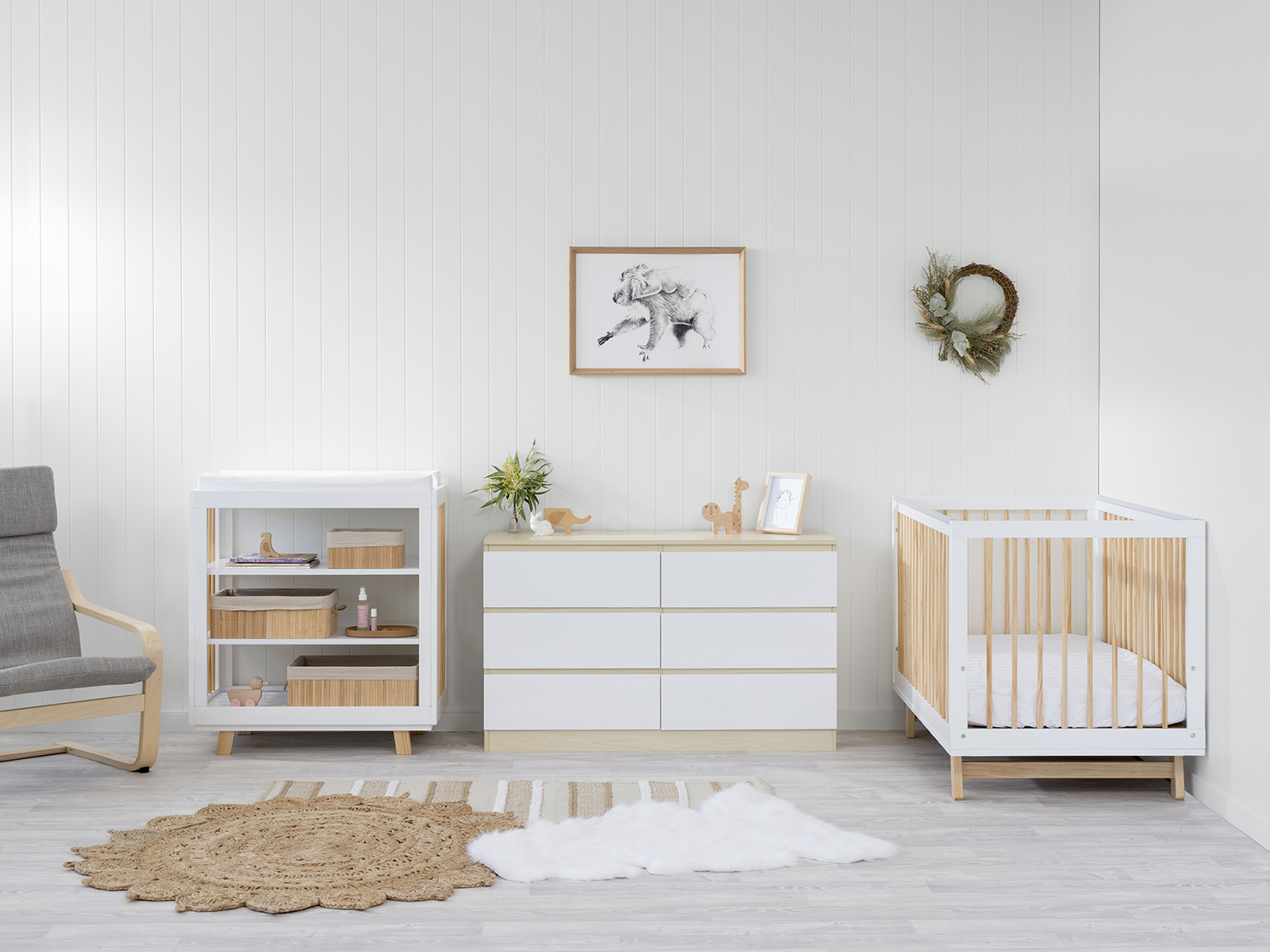 Aspen Upgrade Nursery Furniture Package