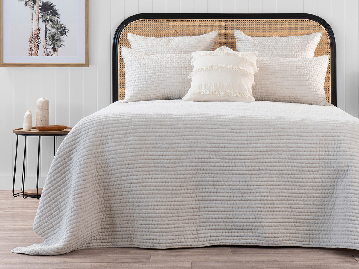 Neroli Queen Quilted Coverlet