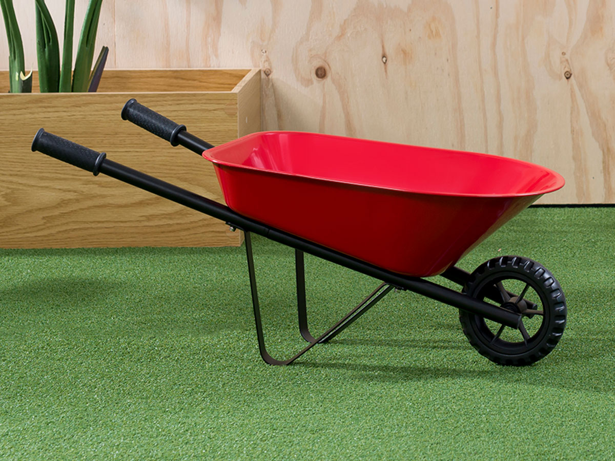Kids Steel Wheelbarrow