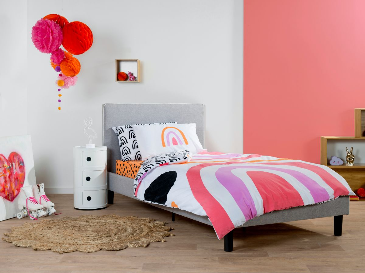 Rainbow Quilt Cover Set