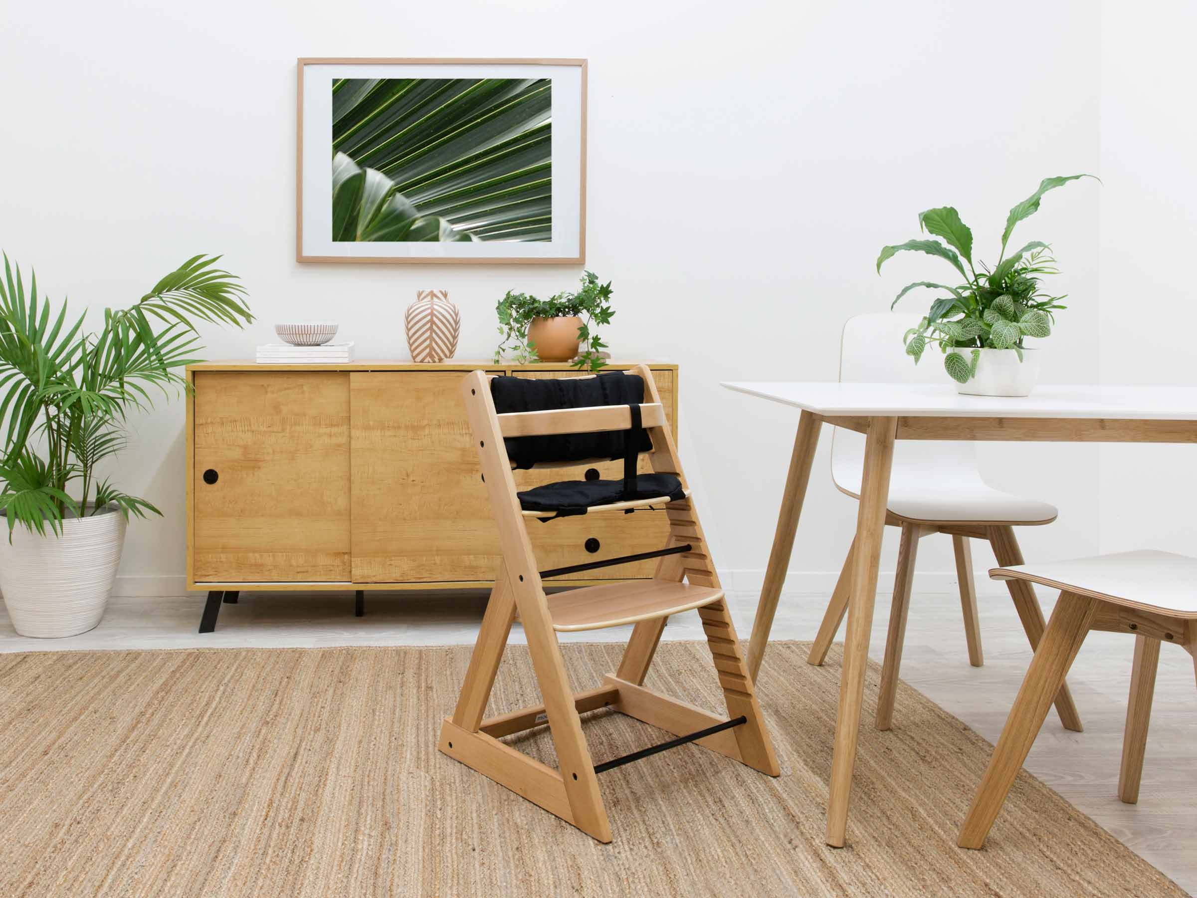 Soho Wooden Highchair - Natural