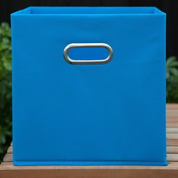 Fabric Boxes - Blue