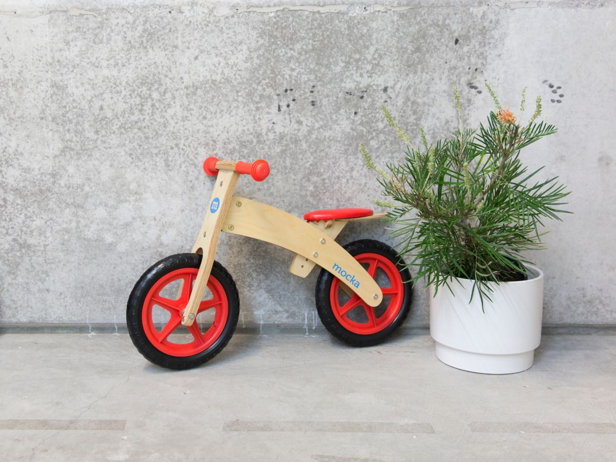 Rookie Balance Bike - Red