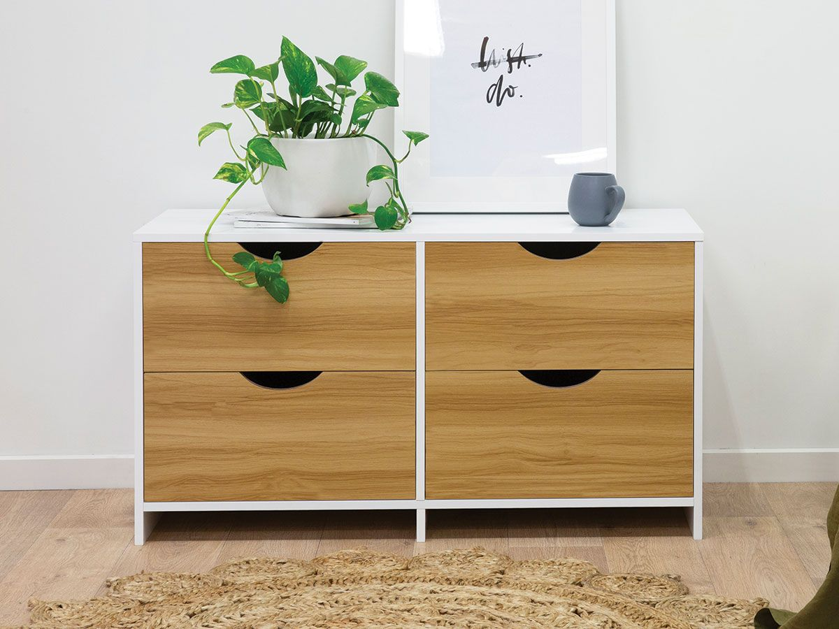 Brooklyn Midi Drawers - Natural Drawers
