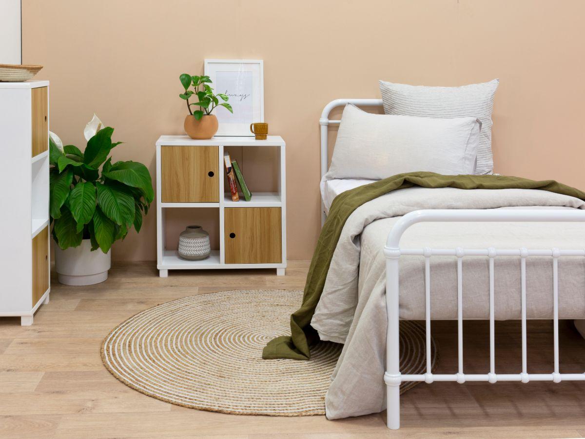 Sonata Bed - Single - White
