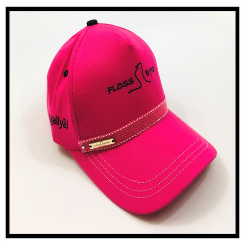 pink floss byrd cap