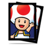 Ultra Pro Deck Protector  - Std Size Sleeves - 65 Count - Mario Bros. - Toad