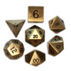 Norse Foundry - Dragon's Gold- 16-22mm RPG Polyhedral Dice  (Set of 7)