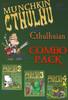 Munchkin Cthulhu COMBO PACK - Base Game + 3 expansion packs!