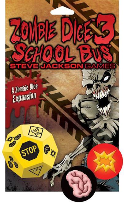 Zombie Dice 3 - School Bus -  Dice Game - Steve Jackson Games
