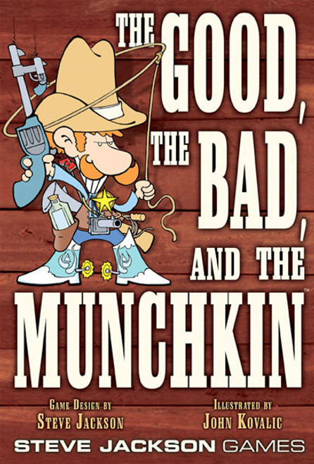The Good, The Bad and the Munchkin COMBO PACK - Base Game +1 Expansion