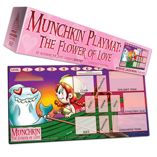 Munchkin - Official Playmat - The Flower of Love - Steve Jackson Games