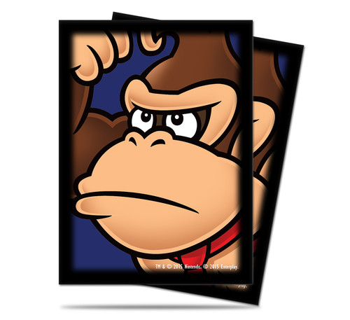 Ultra Pro Deck Protector  - Std Size Sleeves - 65 Count - Mario Bros. - Donkey Kong