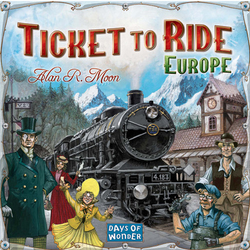 Ticket To Ride - Europe The Original Board Game - Days of Wonder