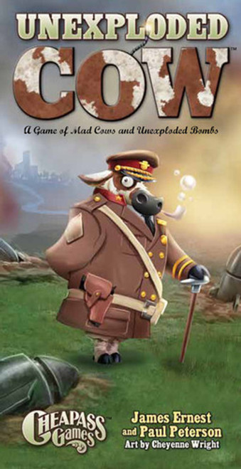 Unexploded Cow - Deluxe Edition - The Card Game - Cheapass Games