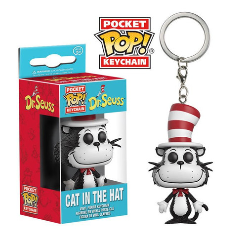 Pocket POP! Keychain - Dr. Seuss - The Cat In the Hat