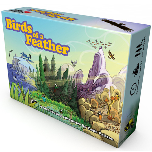 Birds of a Feather - A Bird Chasing Adventure Card Game -  Nothing Sacred Games