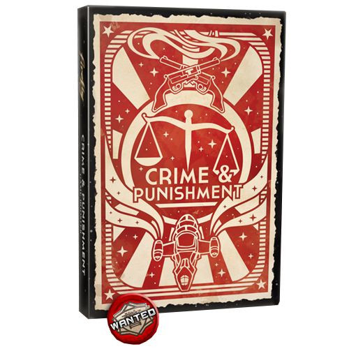 Firefly - The Game - Crime and Punishment Expansion - Board Game - Gale Force 9