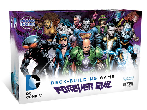 DC Comics Deck Building Game - Forever Evil Core Set - Cryptozoic Entertainment