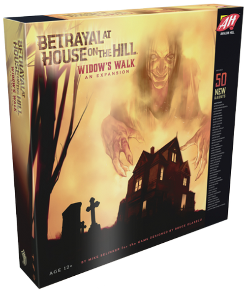 Betrayal At House on The Hill - Widow's Walk Expansion - Avalon Hill