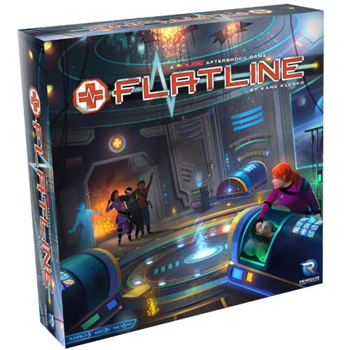 FLATLINE - A Fuse Aftershock - Real-Time Co-Op Dice Game - Renegade Games