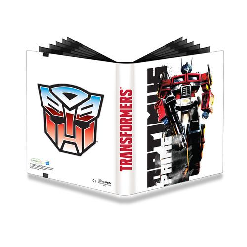 Ultra Pro 9-Pocket PRO Binder TRANSFORMERS - Optimus Prime