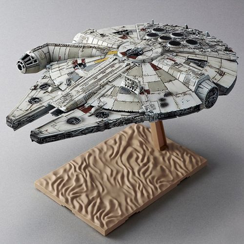 STAR WARS - The Force Awakens - The Millennium Falcon 1:444 Model Kit - Bandai Hobby