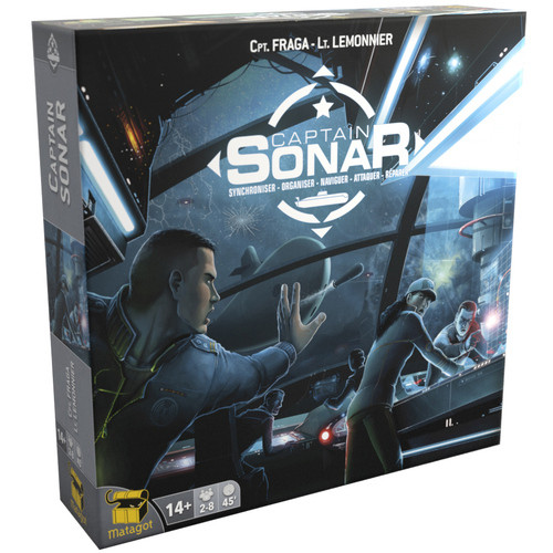 Captain Sonar - A CO-Op Underwater Adventure Board Game - Matagot Games