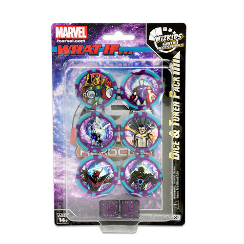 HeroClix - 15th Anniversary - Marvel What If - Dice & Token Pack - WizKids