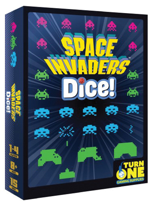 Space Invaders - The Dice Game - Turn One Gaming