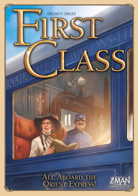 First Class - A Traveling Board Game - Z-Man Games