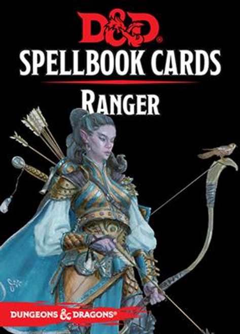 Dungeons and Dragons RPG - Spellbook Cards - Ranger Deck (46 cards) - Gale Force 9