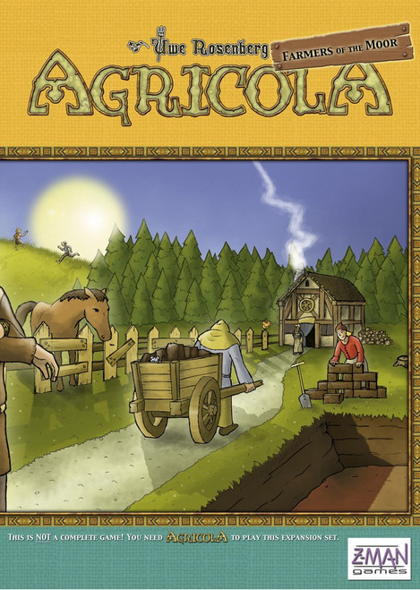 Agricola - Farmers of the Moor Expansion - Z-Man Games