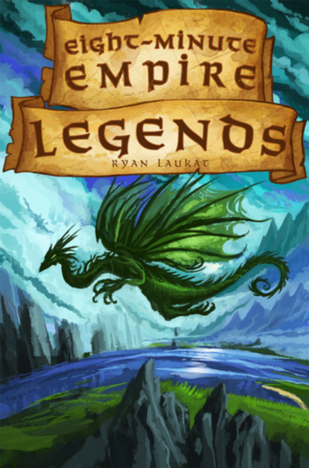 Eight Minute Empire - LEGENDS (Standalone) Card Game - Red Raven Games