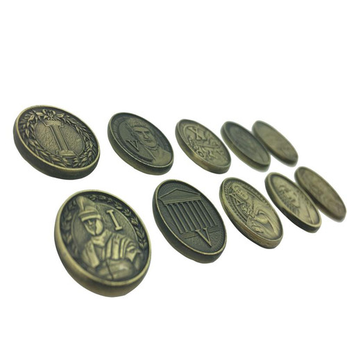 """Norse Foundry - Adventure Coins - Variety Pack  (Set of 10) """"Roman"""""""