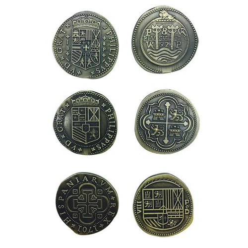 """Norse Foundry - Adventure Coins - Variety Pack  (Set of 10) """"Historic Doubloons"""